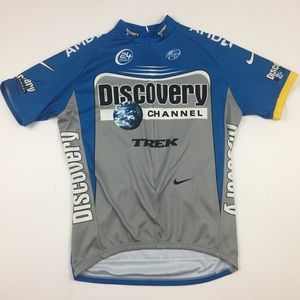 NIKE DriFit Discovery Channel Active Cyclist Shirt